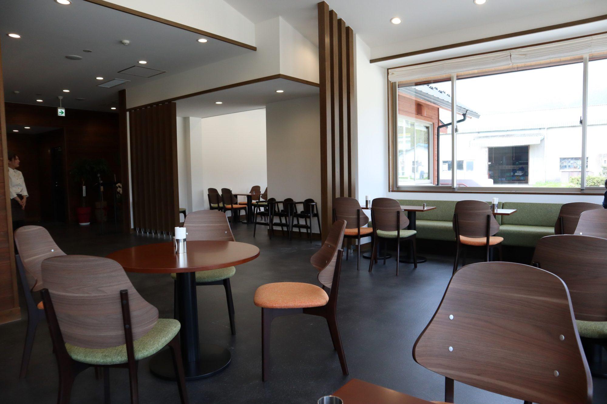 メタセコイア カフェ